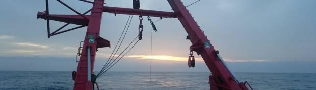 Side scan sonar survey in Canary Islands