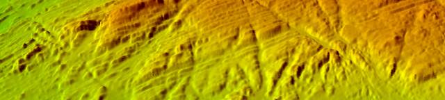 Multi beam bathymetry in north Spain