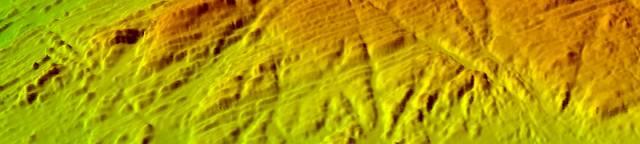 Multi beam bathymetry in north Spain